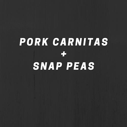 Pork Carnitas & Snap Peas