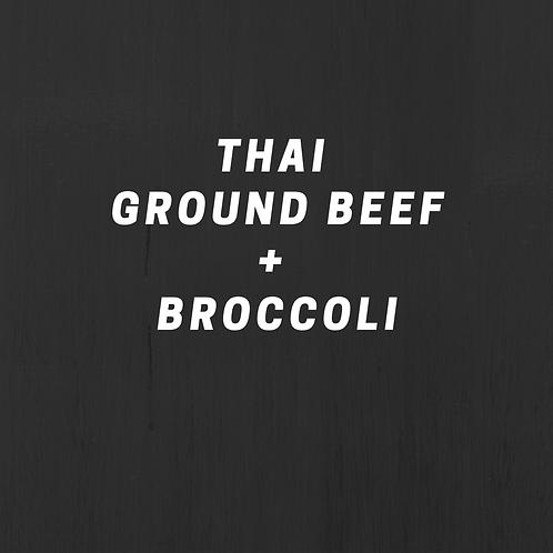 Thai Ground Beef & Broccoli