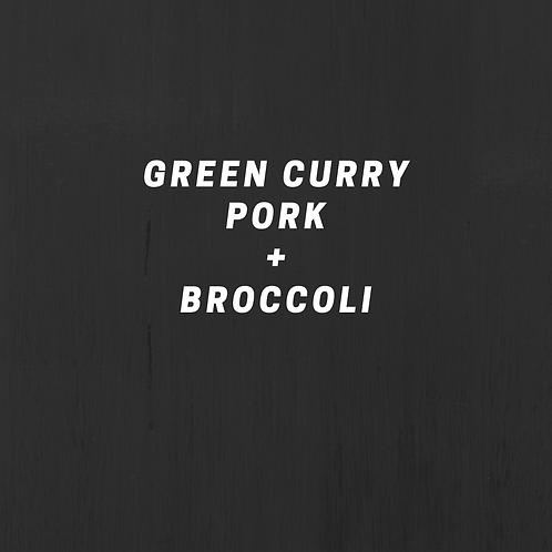 Green Curry Pork & Broccoli