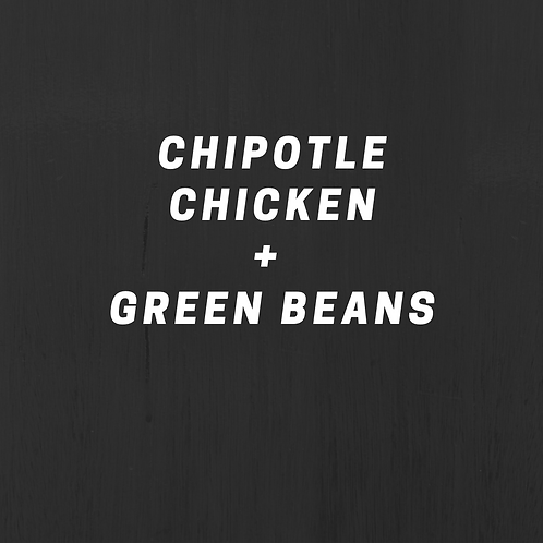 Chipotle Chicken & Green Beans