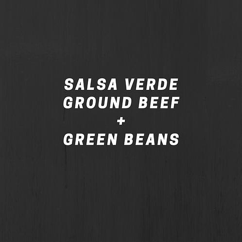 Salsa Verde Ground Beef & Green Beans