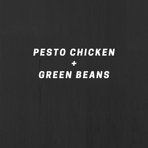 Pesto Chicken & Green Beans