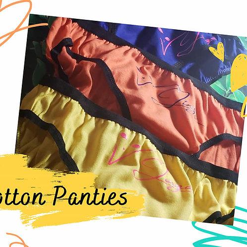COTTON PANTIES - SINGLE PAIR