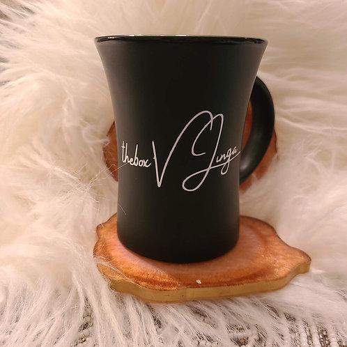 Coffee mug with tea ball Infuser