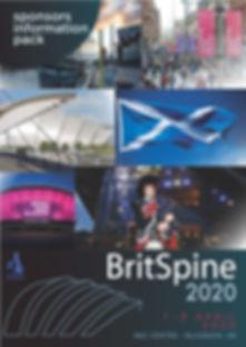 BritSpine2020 Glasgow Sponsorship Pack C