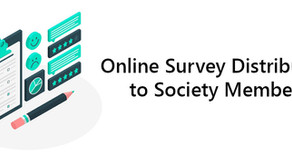 Online Survey Distribution to Society Members