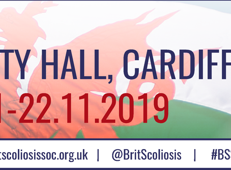 British Scoliosis Society (BSS) - Cardiff - 21-22 November 2019 Registration is now open!