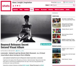 Beyoncé Releases Secret Second Visual Album