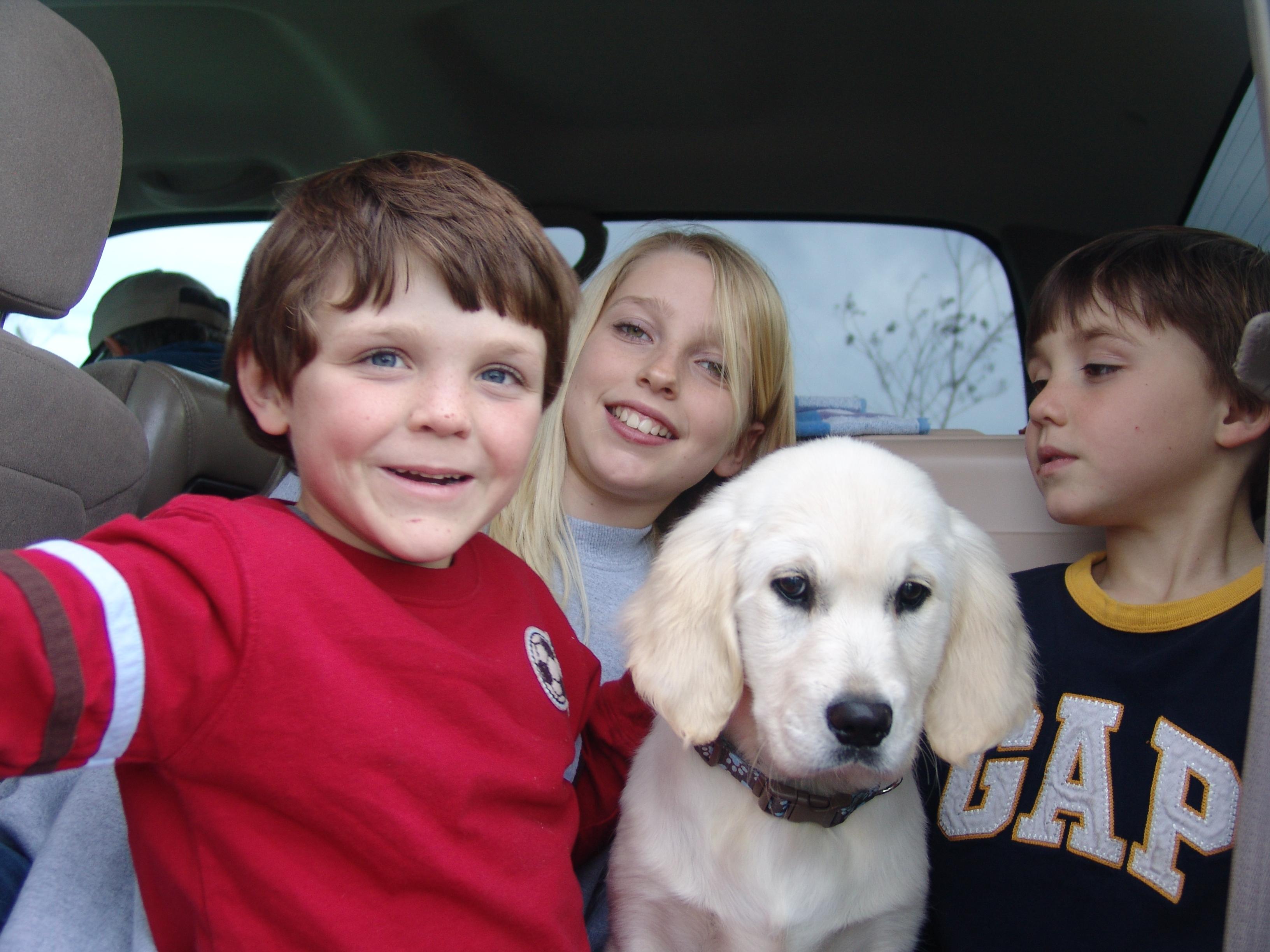 Darla with Hannah and Boys