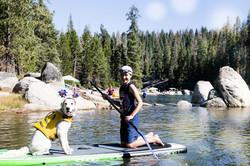 Zander and Harper Paddleboarding (1 of 1)
