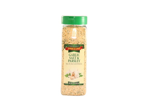Garlic Salt & Parsley
