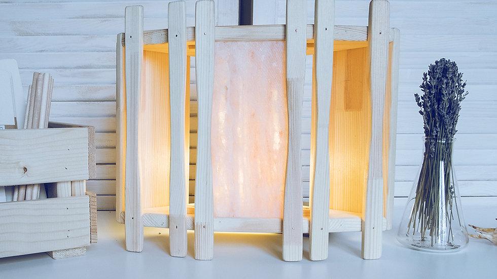 Солевая лампа «Абажур угловой», с секциями [Подробнее >]