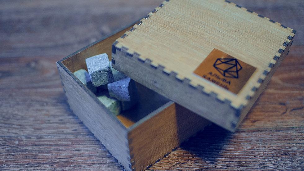 Камни для виски талькохлорит, 9 кубиков, «Премиум» [Подробнее >]