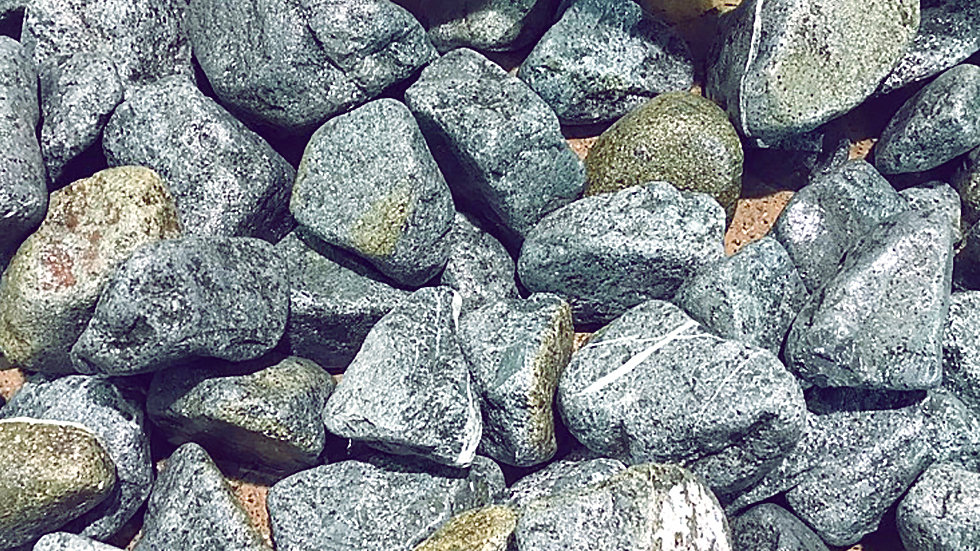 Щебень Порфирит 1 тонна для отделки и ландшафтного дизайна