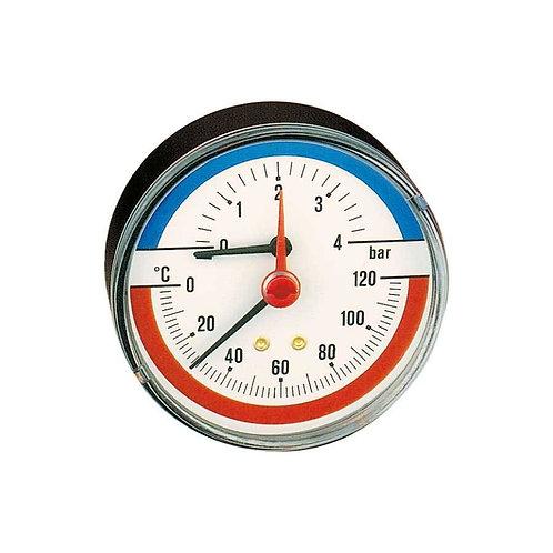 """Termomamómetro. Ligação posterior 1/2""""."""