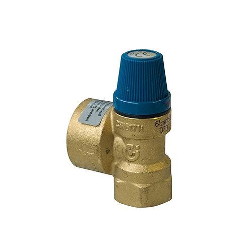 Válvula de Segurança para Instalações Hidrossanitárias