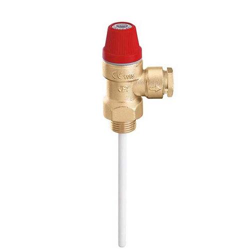 Válvula de segurança de temperatura e pressão