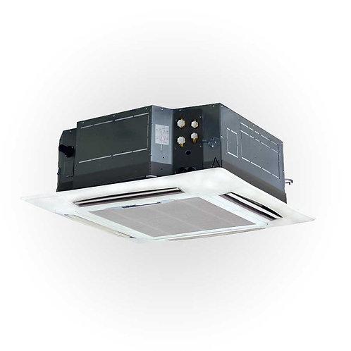 Ar condicionado comercial Mono Split Cassete 4 vias super slim / compacta
