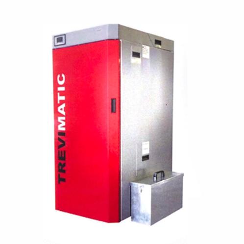 Caldeira Pellets Gaseificação Trevimatic c/ compactor