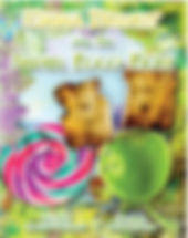 Front cover of Emma Bright and The Super Food Fight children's adventure story for 5-9 year olds. Story written to inspire healthy eating habits for life through a selection of super foods and treat characters who battle over too much sugar on the Island of Plenty. Healthy eating for kids to tackle fussy eating or over eating with a positive approach. Good nutrition through understanging balance and choice. Positive parenting.