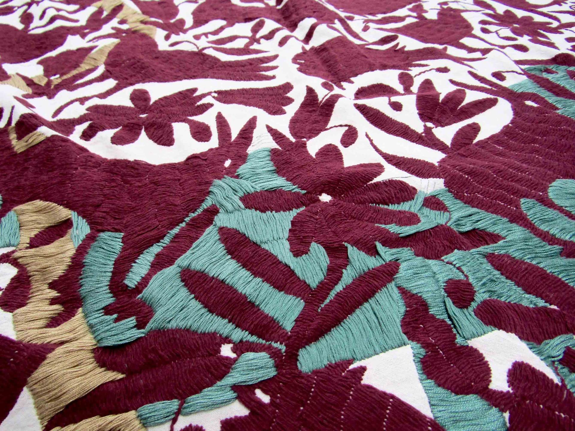 Detalle de bordado Pahuatlán