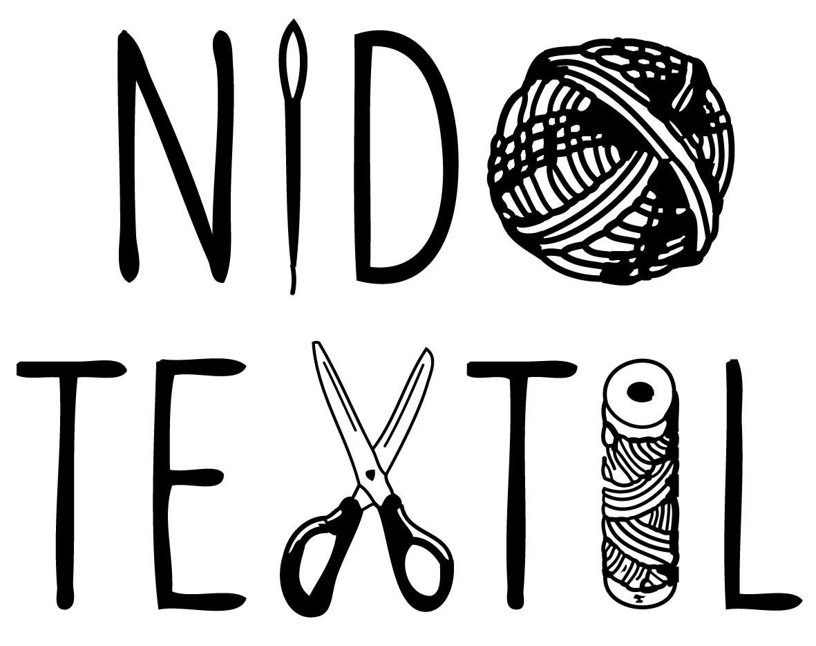 Logotipo de Nido Textil creado el año 2015