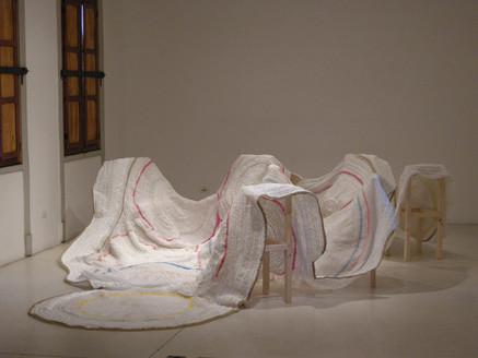 Vista de Chacra expuesta en Galería Die Ecke