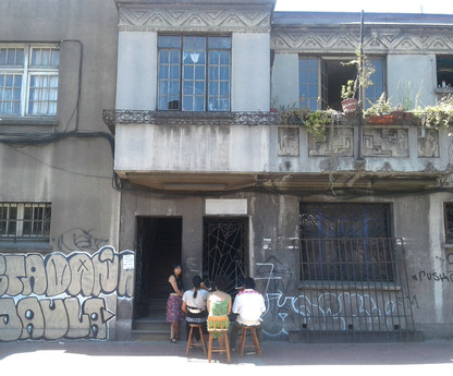 Casa taller Lastra 1047, comuna de Independencia, Santiago, Chile