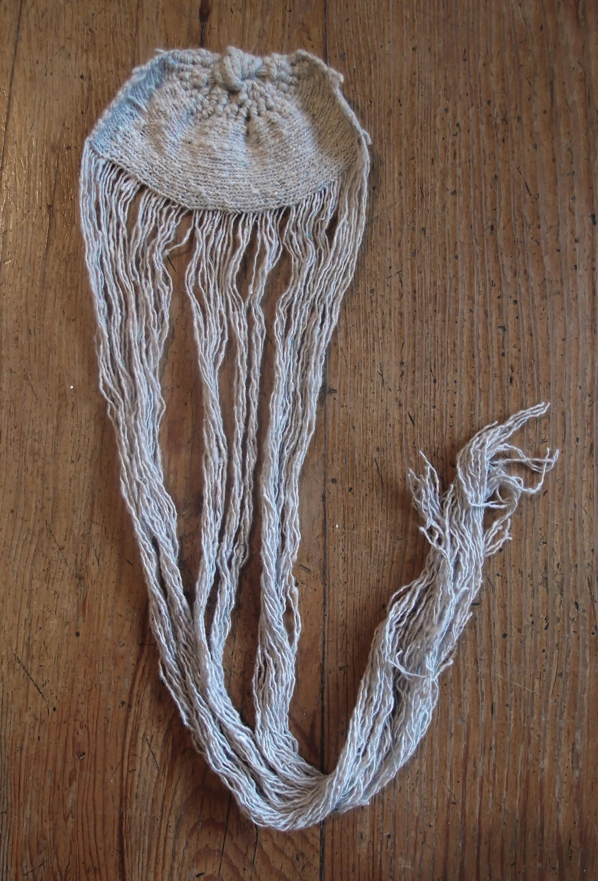 Ejercicio de tejido para la serie Espías en el fondo del mar