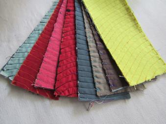 Pruebas de costura y color