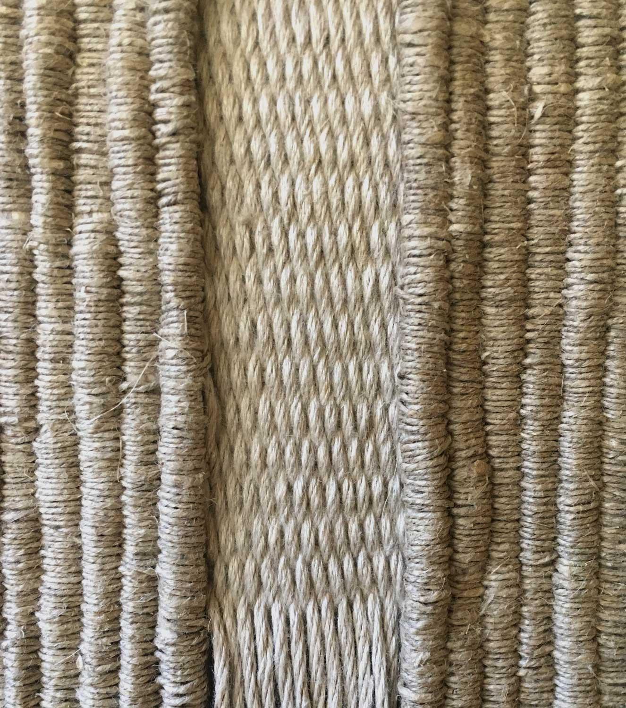 Detalle de un textil en proceso