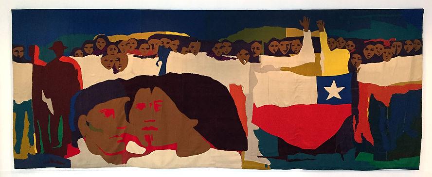 Gracia Barrios. Multitud III, 1972, reta