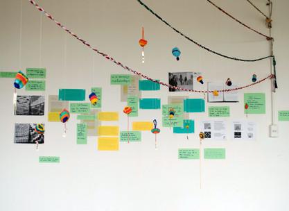 Laboratorio Textil, programa de mediación Hélice, Centro Nacional de Arte Contemporáneo