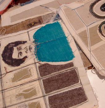Ilustraciones textiles para Víctor