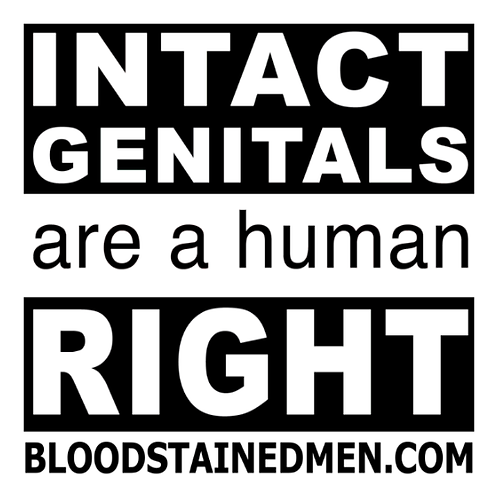 Intact Genitals Are A Human Right Stickers
