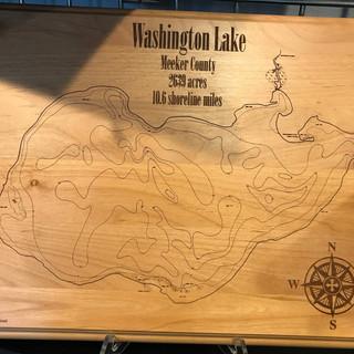 WASHINGTON LAKE, MEEKER COUNTY, MN LAKE