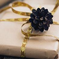 Geschenk verpackt