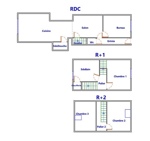 Plan maison Loos