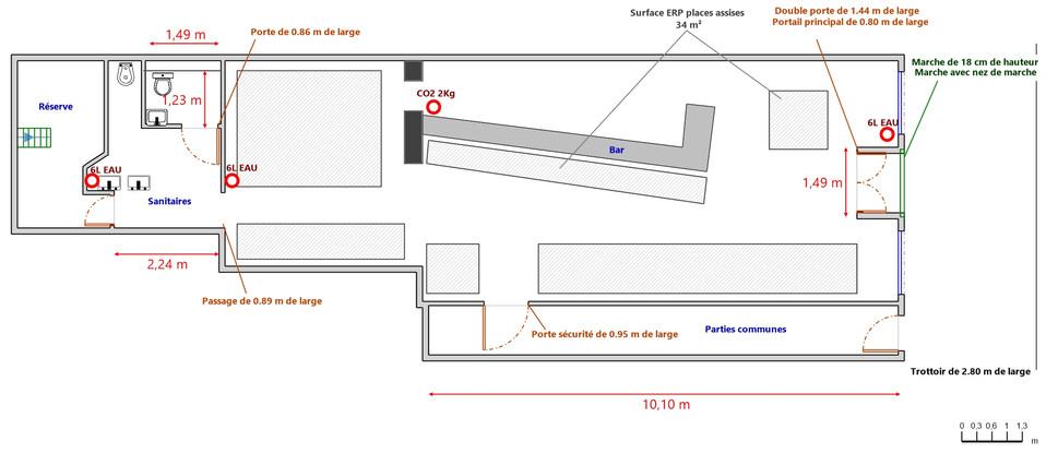 Plan maison La Madeleine