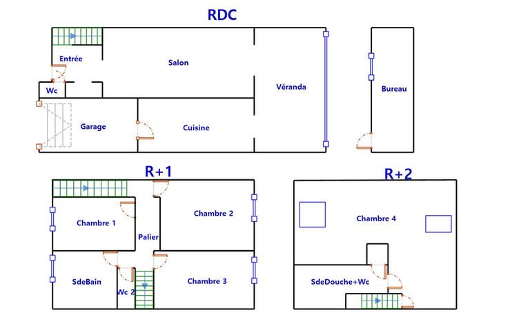 Plan maison DPE Lambersart