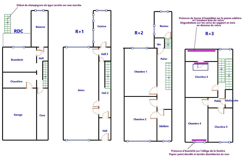 Plan maison DPE La Madeleine