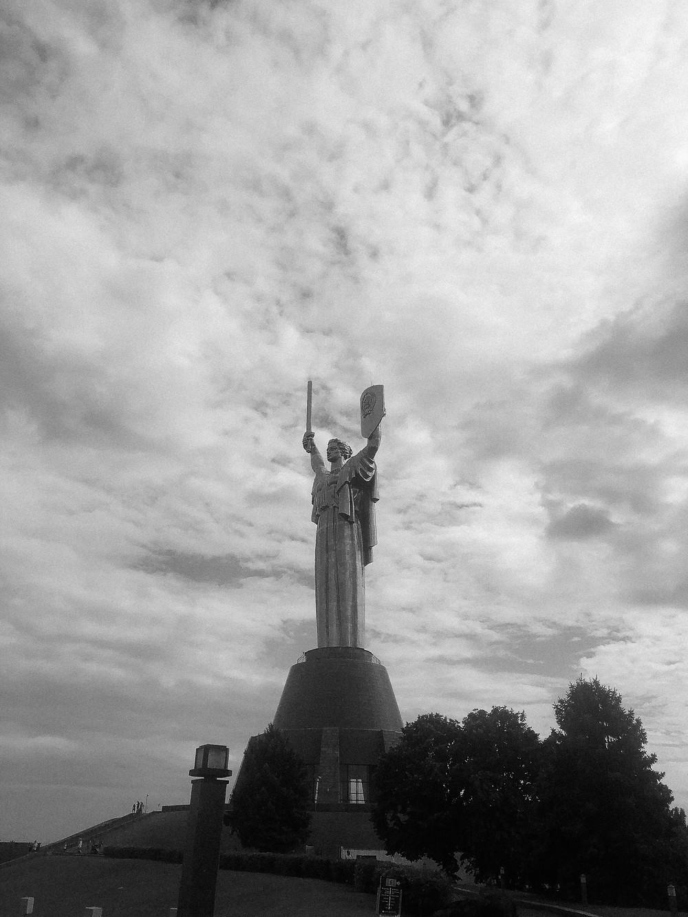 The Motherland Monument, Kyiv, Ukraine