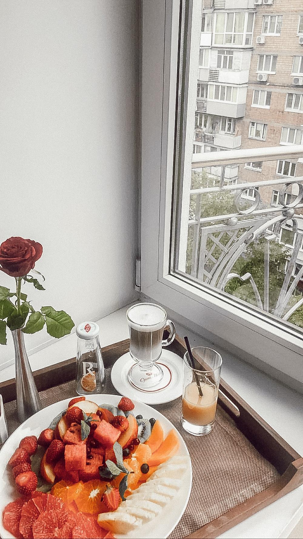 Cafe Latte, Opera Hotel, Kyiv, Ukraine