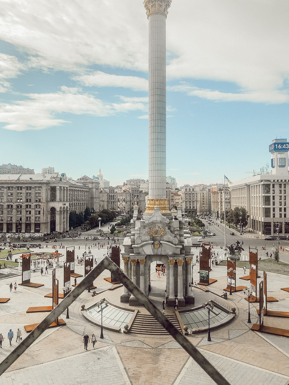 Maidan Nezalezhnosti, Kyiv, Ukraine
