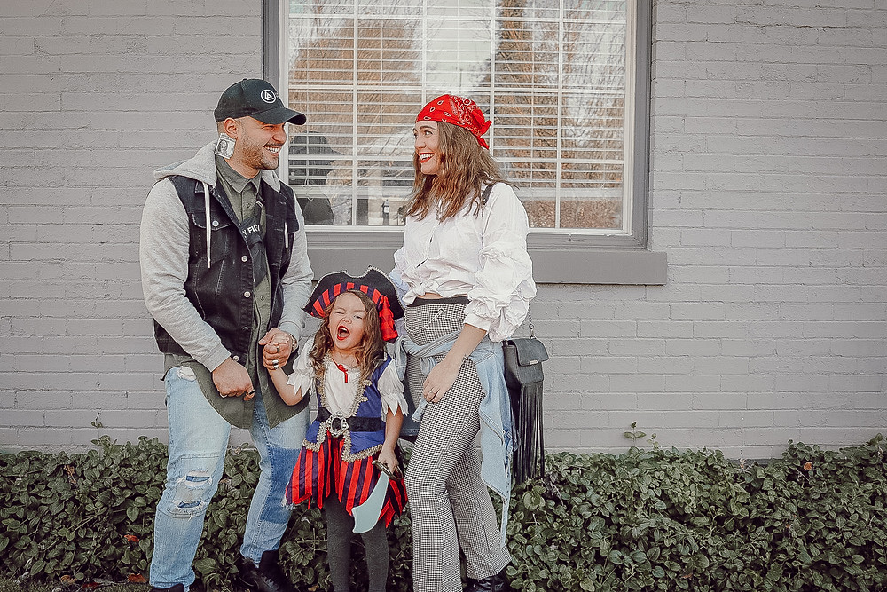 family pirate costume