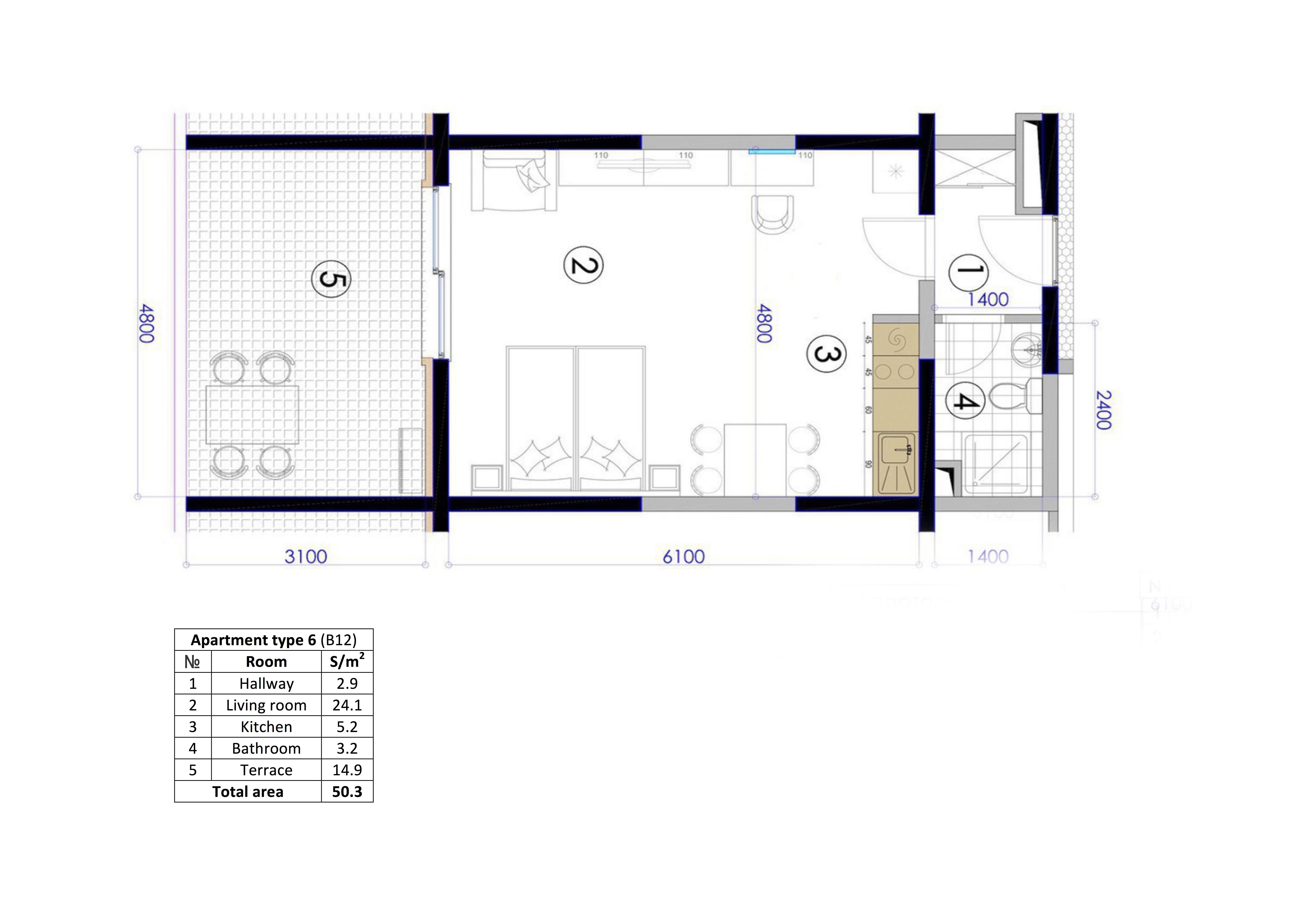 Apartament B12