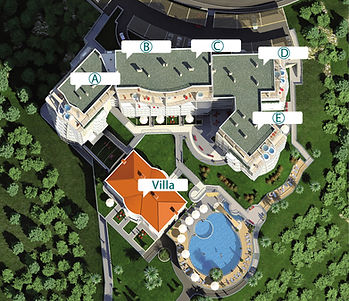 Plan ApartHotel Belvedere Residence