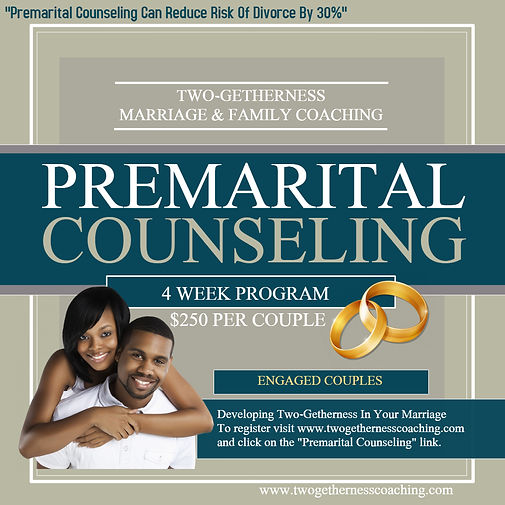 Premarital Counseling - Made with Poster