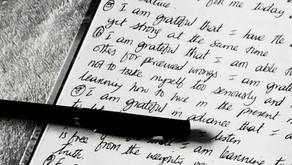 The beauty of Gratitude Journaling