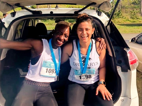Her First Half Marathon at Six Months Pregnant - Melissa's Half Marathon Journey